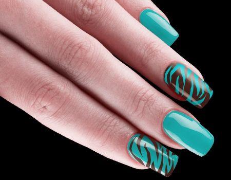 15 Cute Zebra Print Nail Art Designs and Tutorial - Best 25+ Zebra Print Nails Ideas On Pinterest Zebra Nail Art