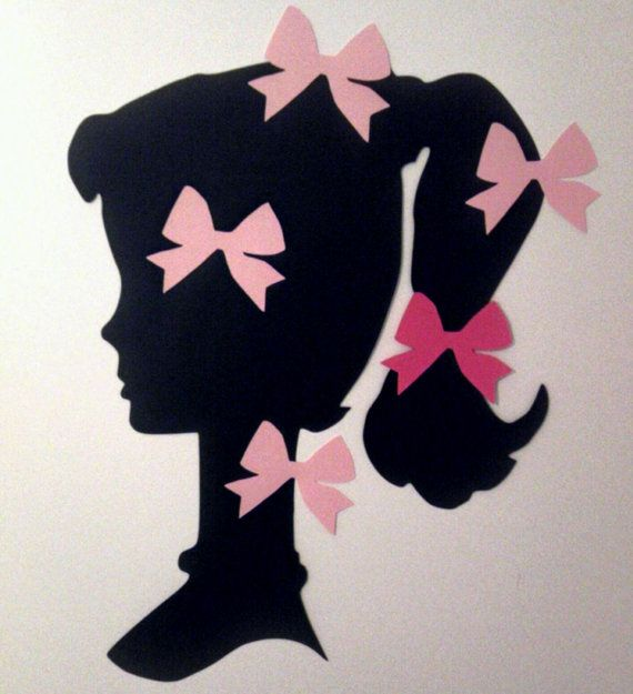 Pin The Bow On Vintage Barbie Party Game By FreshCutsbyLauriBeth 600