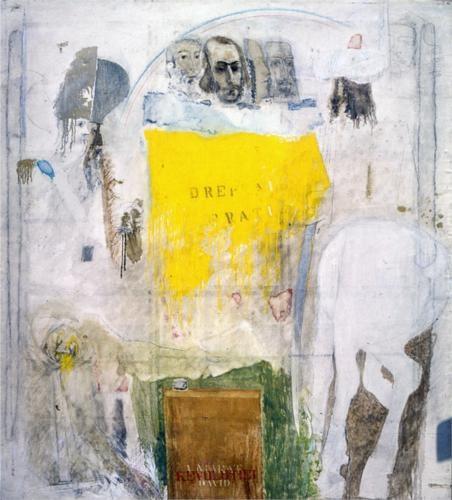Ion Nicodim (1932 - 2007)   unknown title   Art Informel