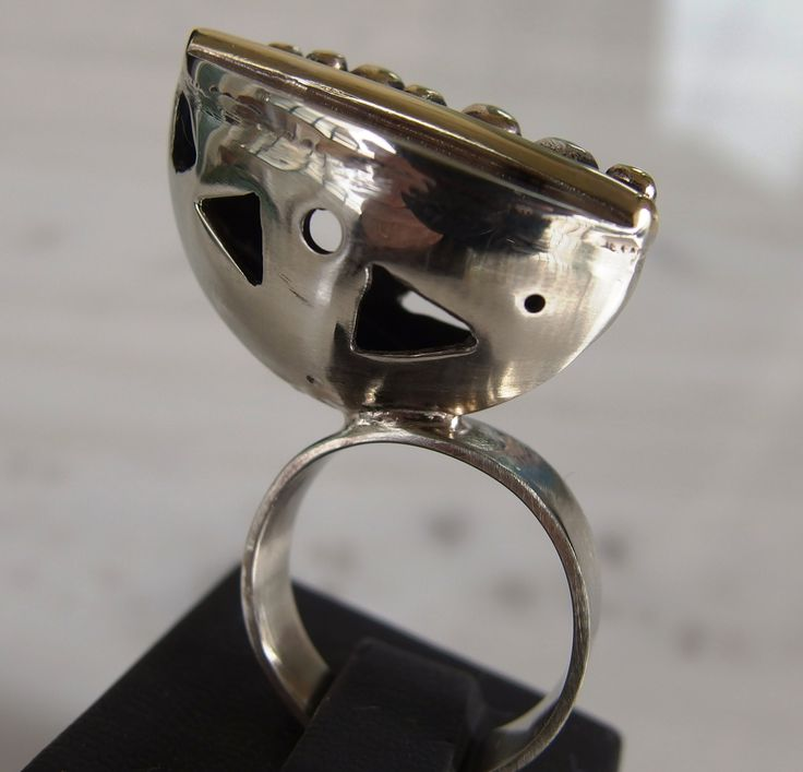 german silver ring