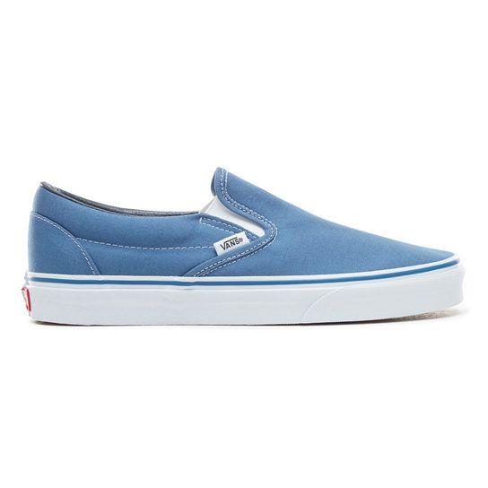 Chaussures Classic Slip-On | Bleu | Vans | Chaussures slip on ...