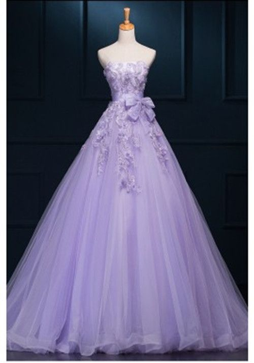Newest Lavender Ball Gown Prom Dresses,Quinceanera Dresses