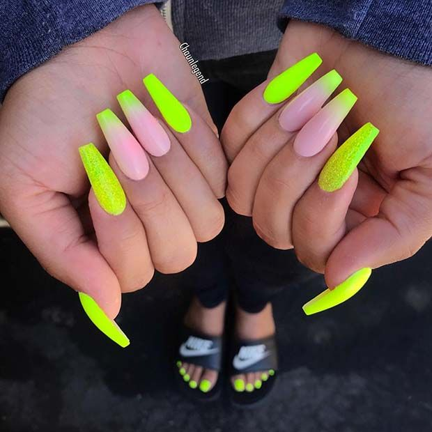51 Cool French Tip Nail Designs Page 5 Of 5 Stayglam French Tip Nail Designs Ombre Acrylic Nails Pretty Acrylic Nails