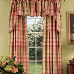 farmhouse swags in curtain burlap swag country living how landscape curtains see no it room sew dining easy town