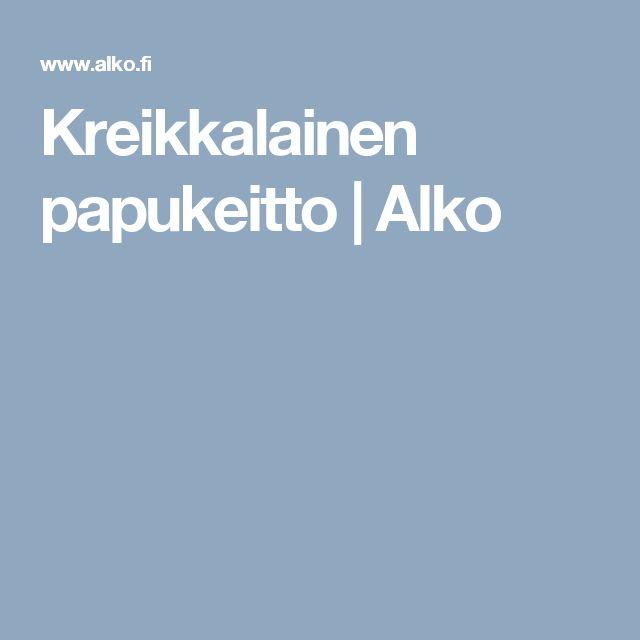 Kreikkalainen papukeitto | Alko