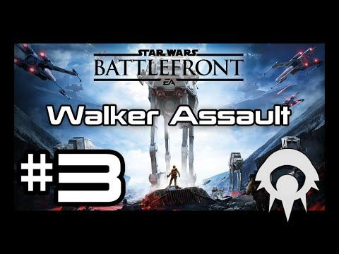 Star Wars Battlefront #3 - Walker Assault on Endor (Imperial)