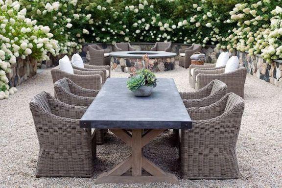 Outdoor Dining Furniture Trends Becki, Restoration Hardware Inspired Patio Furniture
