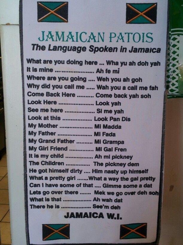 Jamaica Patois