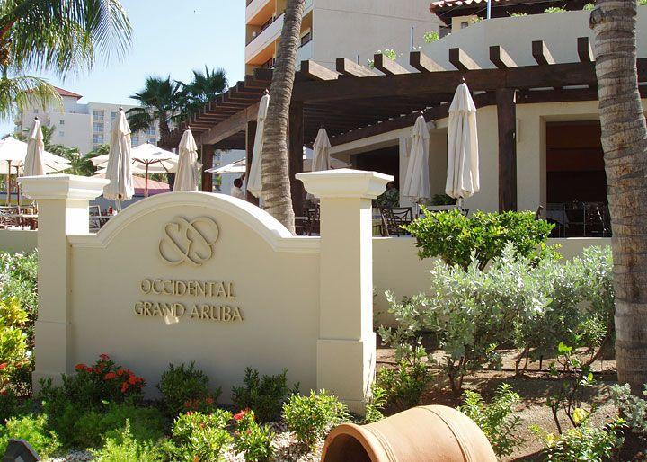 Occidental Grand Aruba - Our honeymoon destination (all Inclusive) <3