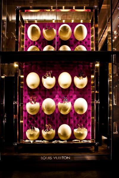 Витрины бутика Louis Vuitton