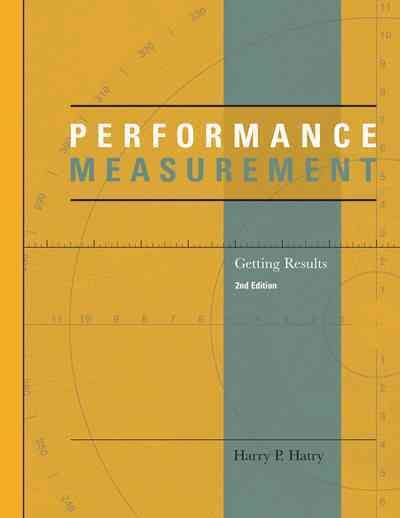 Performance Measurement: Getting Results