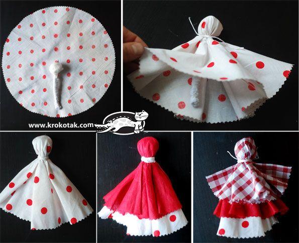 DIY Rag doll - Baba Marta