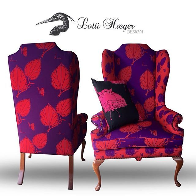 .......and she is gone. Sold Wingback chair, Collection ASITA/ ....y se fue, silla Wingback vendida tapizada en Colección ASITA#lottihaeger #art#architecture #arquitectura #flowers #pattern #colorful #color#colour#style#textiles #fabric #inredning #design #designer #decorating #decoration #decor #homedesign #homedecor #chair #furniture