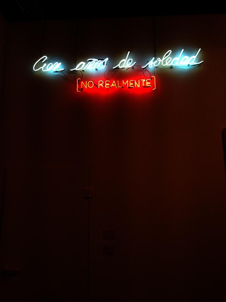 """Cien Anos De Soledad by Alfredo Jarr---""""It is not true that people stop pursuing dreams because they grow old, they grow old because they stop pursuing dreams.""""  ― Gabriel García Márquez"""