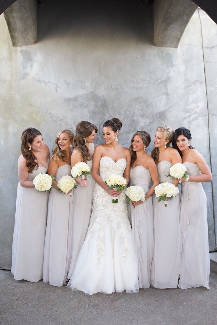 Top 25 ideas about Grey Bridesmaid Dresses on Pinterest ...