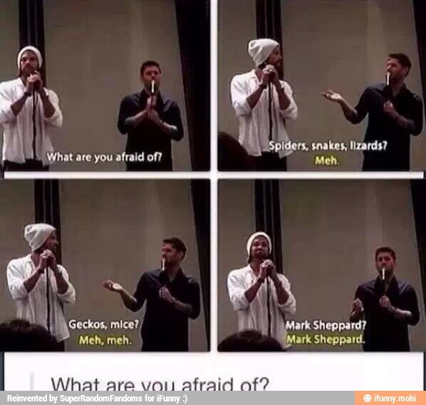 Mark Sheppard | Supernatural. But I love Mark Sheppard!