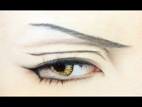 cute anime eyes makeup tutorial