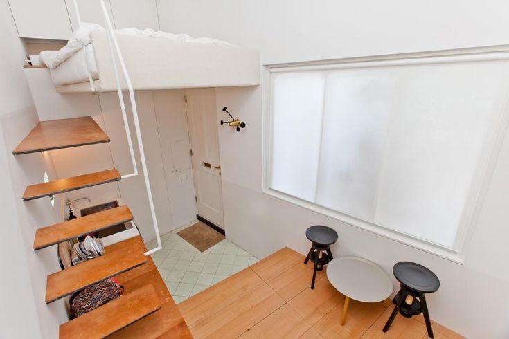 Dit appartement is misschien wel het kleinste ter wereld! Roomed | roomed.nl