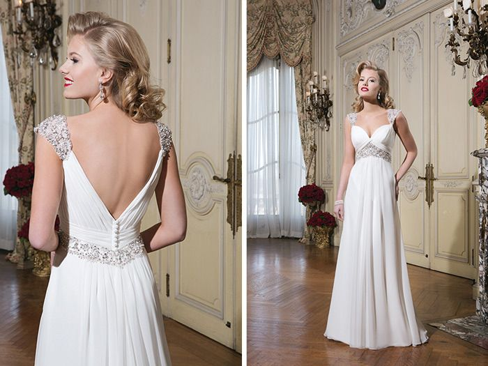 New 2015 bridal collection from Justin Alexander