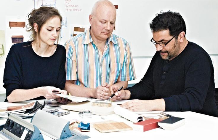 Morten Georgsen and his staff at Futhark Design in Valencia.