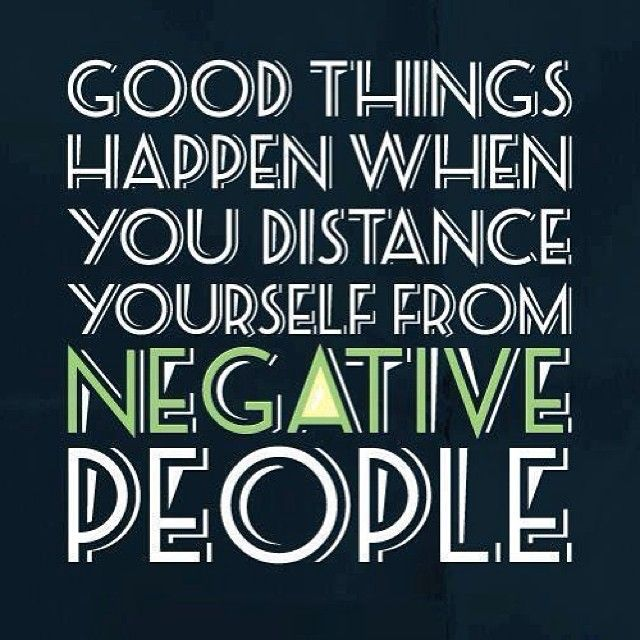 Removing Negative People Quotes: Remove Negativity