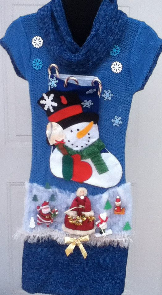 Ugly Christmas Sweater Dress Brand new by stealofadeal, $74.00
