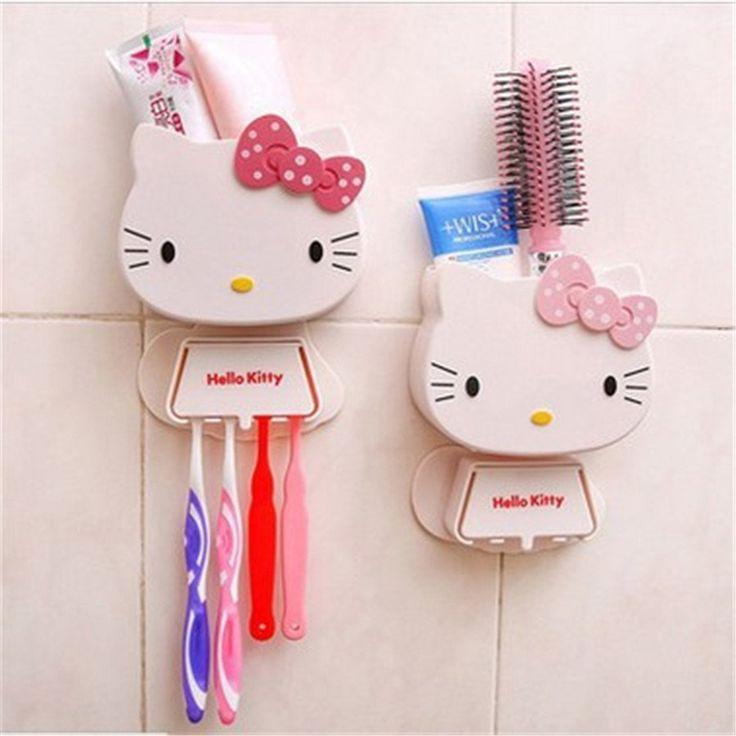 Hello Kitty Bathroom Organizer