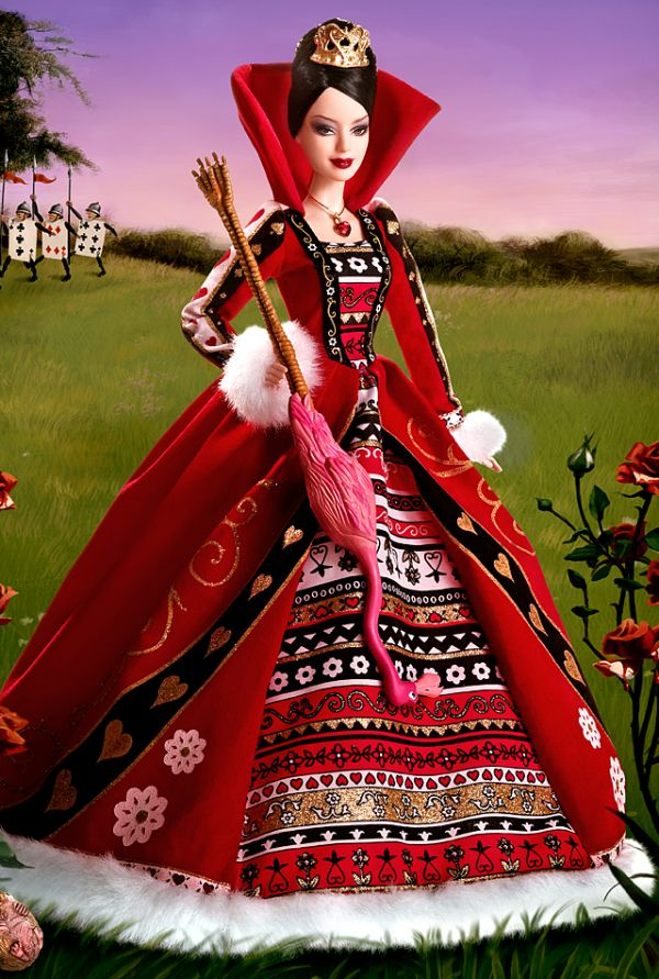 Queen of Hearts Barbie (2007): Barbie Collector #Barbie #Barbie doll
