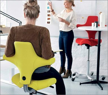 This European, Contemporary Modern HAG Capisco Chair Is Perfect For Those  With Back Problems. The HAG Capisco Saddle Is Ideal For Variable Height ...
