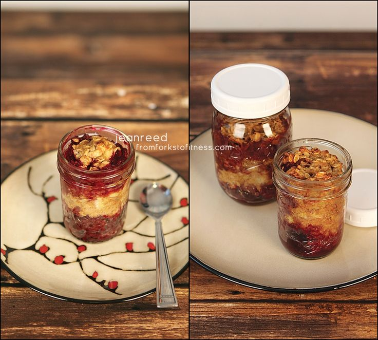 Baked Peanut Butter Oats and Berries | From Forks to Fitness, 21 Day Fix, 21 Day Fix