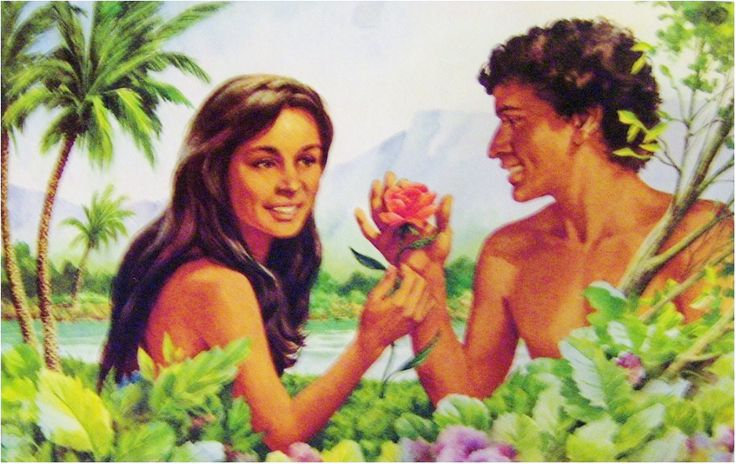 Adam and Eve Primary Lesson TO STUDY