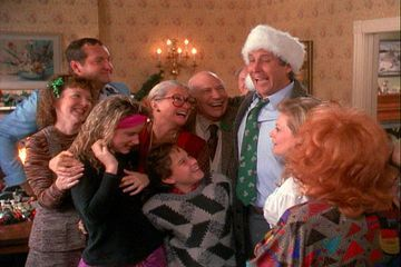 """""""I don't know what to say, except it's Christmas and we're all in misery."""" (National Lampoon's Christmas Vacation)"""