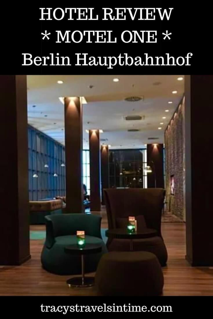Hotel Review - Motel One Berlin Hauptbahnhof. If you are looking for a hotel near the main train station in Berlin then this hotel is ideal.