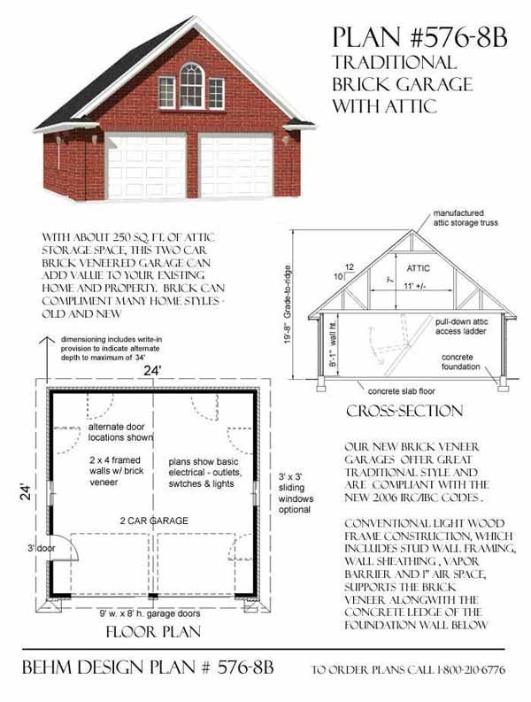 317 best garage plans by behm design pdf plans images on for 20 x 24 garage plans with loft