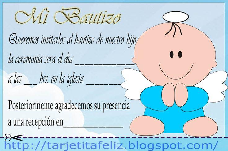 Tarjeta Invitacion Bautismo Y 1 Año Para Bajar Gratis 3 HD Wallpapers