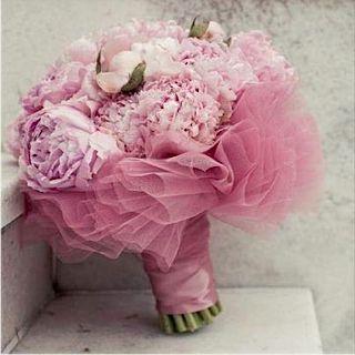 Sinfonía rosa. #ramo #novia
