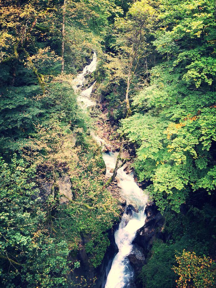 Kaprun waterfall