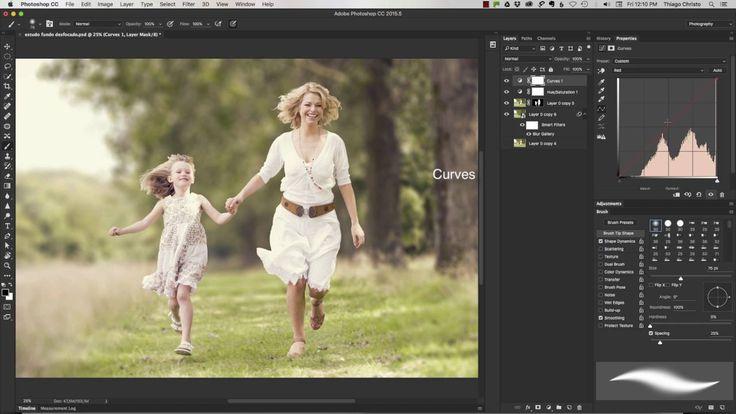 Como desfocar o fundo de uma foto de maneira rápida e simples utilizando ferramentas básicas do Photoshop. Veja mais no nosso curso online. Faça sua inscrição www.thiagochristo.com.br