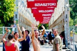Festival de Sziget Welcome bridge