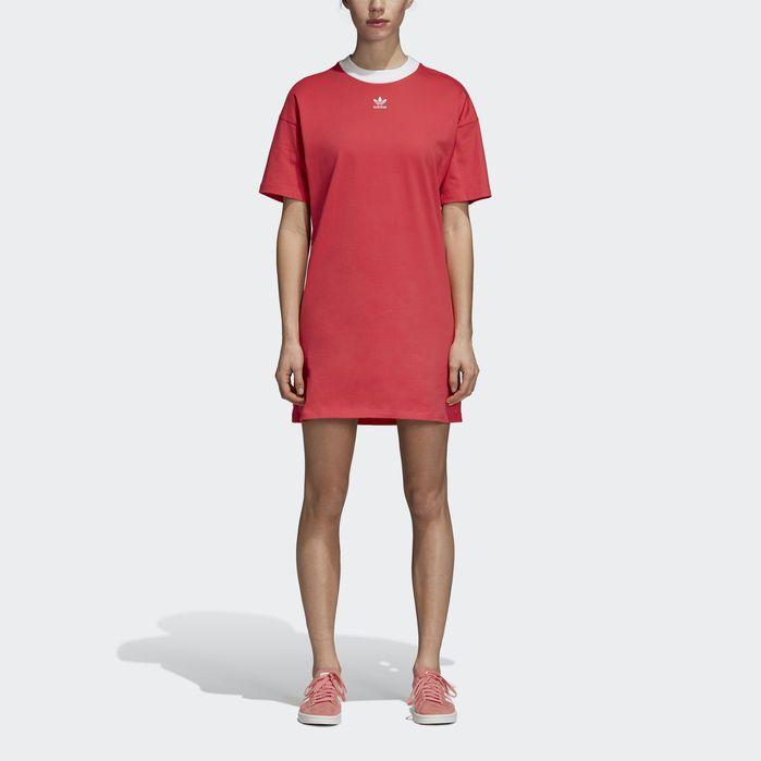Trefoil Dress in 2019   Dresses, Shirt dress, Jeans dress