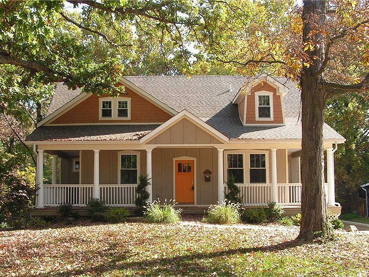 Awww love this house plan and wrap around porch for for Rustic farmhouse plans