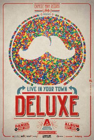Affiche Deluxe - Daniel tour