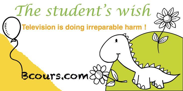The student's wish.