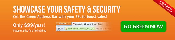 Buy or Renew Comodo EV SSL Certificate at cheap price start at just $99/yr. Turn your address bar green with EV SSL to enhance your website security.