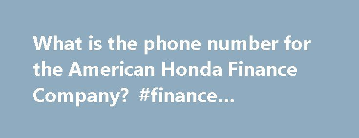 17 best ideas about telephone number on pinterest girls for Honda finance phone number
