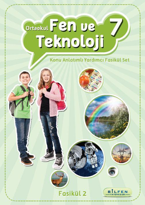 Orta Öğretim 7. Sınıf Fen ve Teknoloji Konu Anlatımlı Yardımcı Fasikül Set
