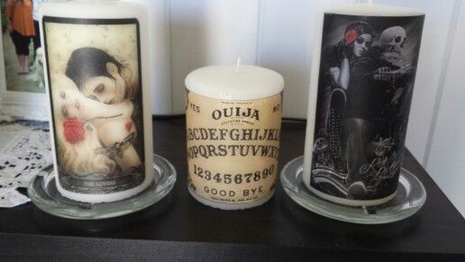 My homemade candles