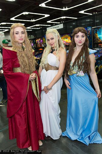 Game of Thrones Ladies! :D I know them. They look so good!