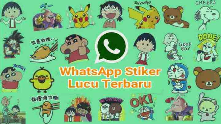 Quby Sticker Whatsapp Stiker Lucu Kartu Lucu