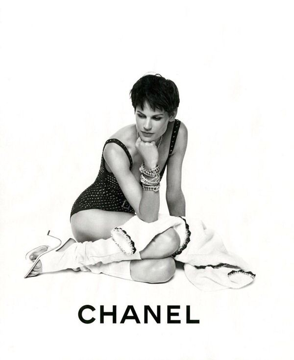 Saskia de Brauw for Chanel